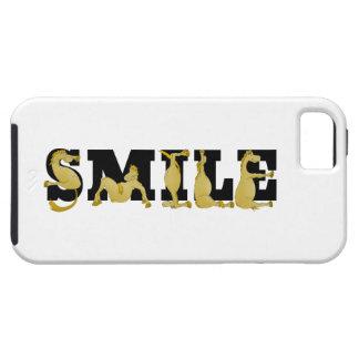 SMILE written in cute flexible ponies iPhone 5/5S Case