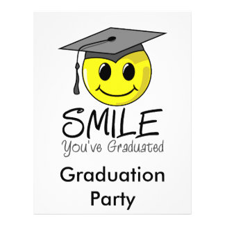 Smile You've Graduated Flyers