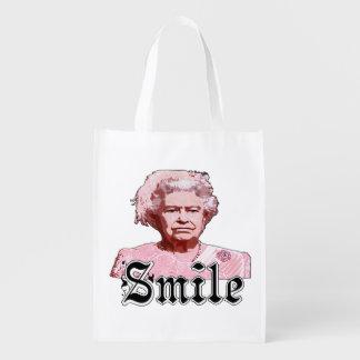 Smile Grocery Bag