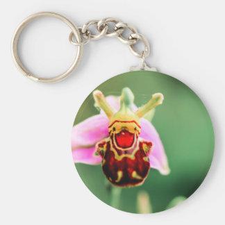 Smiler Basic Round Button Key Ring