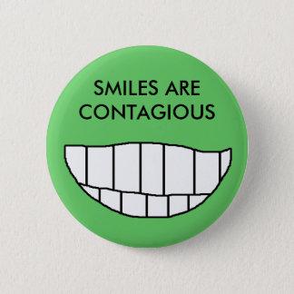SMILES ARE CONTAGIOUS - button