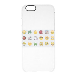 smiles clear iPhone 6/6S case