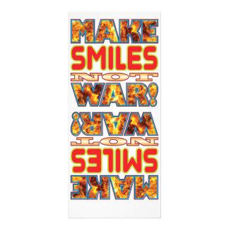 Smiles Make X Rack Card