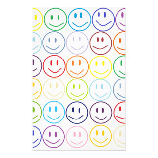 Smiles No Matter What Personalized Stationery