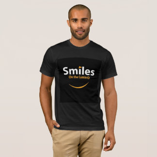 Smiles on the Camino tee shirt