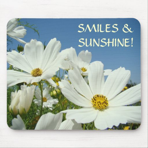 SMILES & SUNSHINE! Mousepad gifts Office Mouse pad