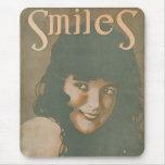 Smiles Vintage Music Mousepad