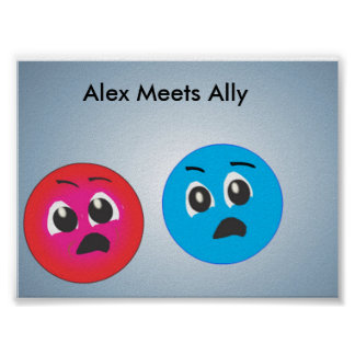 Smiley Alex And Ally Fearing. Posters