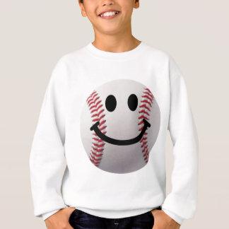smiley baseball sweatshirt