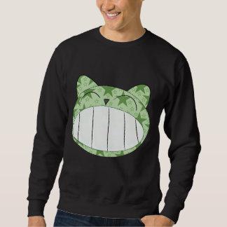 smiley cat sweatshirt
