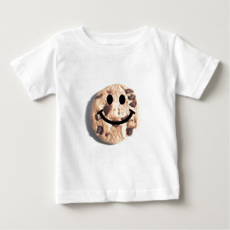 Smiley Chocolate Chip Cookie Baby T-Shirt