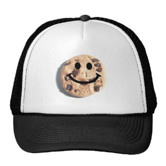 Smiley Chocolate Chip Cookie Cap
