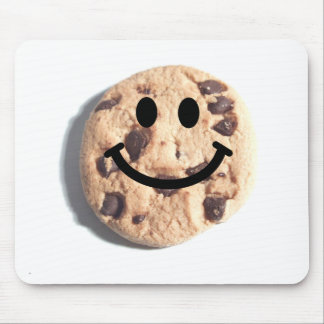 Smiley Chocolate Chip Cookie Mouse Mat