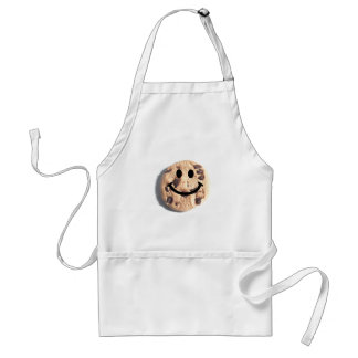 Smiley Chocolate Chip Cookie Standard Apron