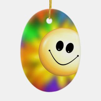 Smiley Christmas Ornament
