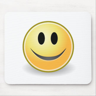 Smiley collection mouse mat