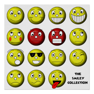 smiley collection poster
