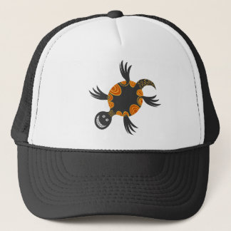 Smiley Cool colourful tortoise full of cheeky fun Trucker Hat