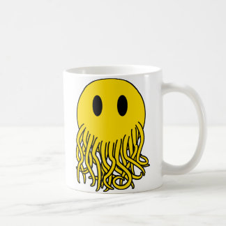 Smiley Cthulhu Coffee Mug