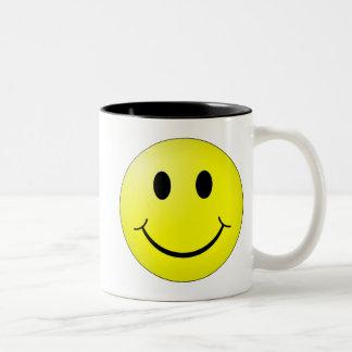 Smiley Cup Two-Tone Mug