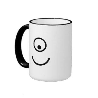 Smiley cyclope eye mug