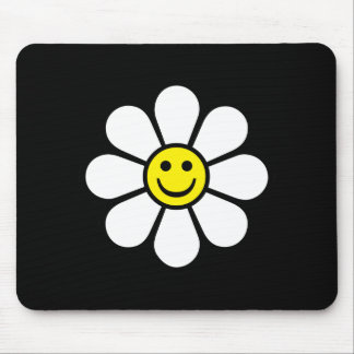 Smiley Daisy Mouse Mat