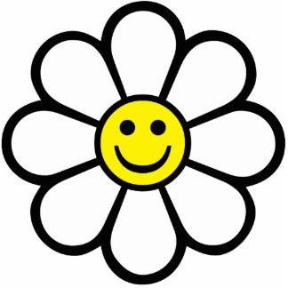Smiley Daisy Photo Cutouts