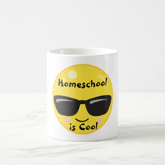 Smiley Emoji with Sunglasses Coffee Mug
