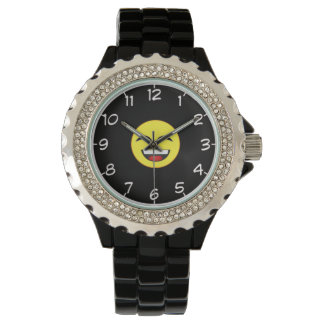 Smiley Face 2 wrist watch