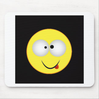 """""""Smiley Face 4"""" Mouse Pad"""