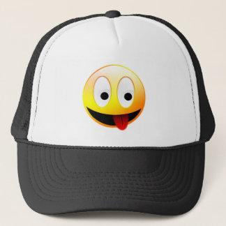 Smiley Face Apparel Trucker Hat