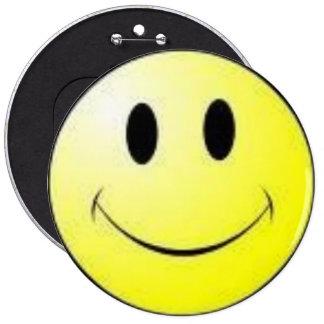 smiley face badge