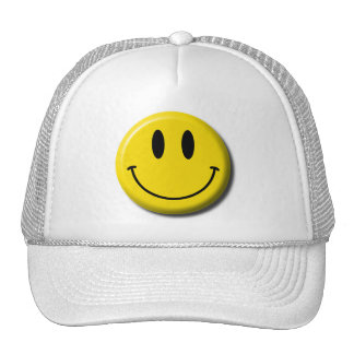 Smiley Face Baseball Cap Trucker Hat