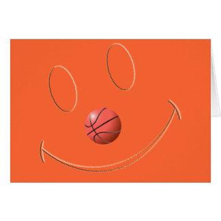 SMILEY FACE BASKETBALL CARDS