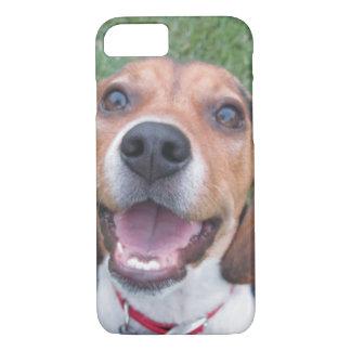 Smiley Face Beagle iPhone 7 Case