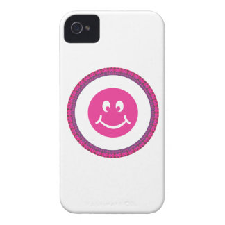 Smiley Face Blackberry Phone Case Case-Mate iPhone 4 Case