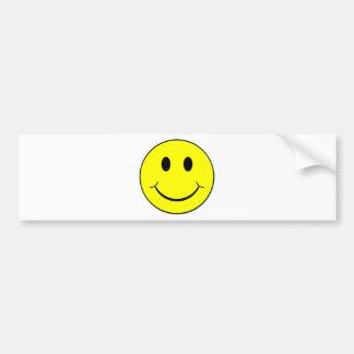 smiley face bumper sticker