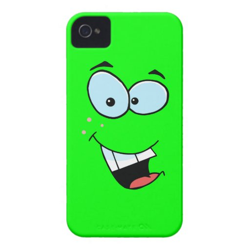Smiley Face iPhone 4 Case-Mate Case