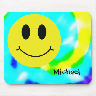 Smiley Face Classic Mouse Pad