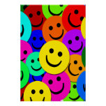 SMILEY FACE COLLAGE POSTER
