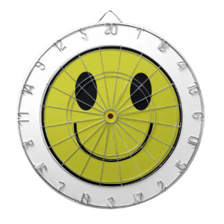 Smiley Face Dart Board