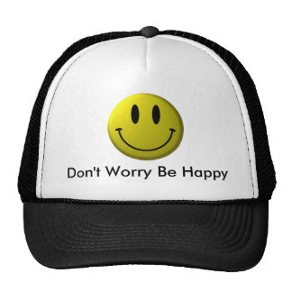 Smiley Face, Don't Worry Be Happy Cap