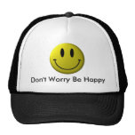Smiley Face, Don't Worry Be Happy Hat