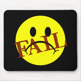 Smiley Face FAIL Mouse Mats