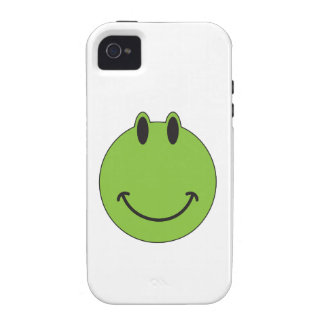 Smiley Face Frog Case-Mate iPhone 4 Covers
