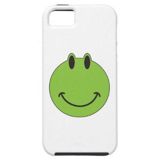 Smiley Face Frog Tough iPhone 5 Case