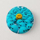 Smiley Face fun Image 6 Cm Round Badge