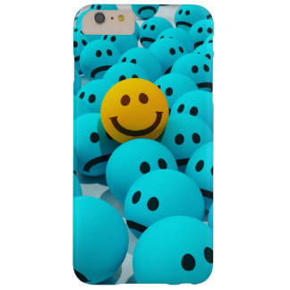 Smiley Face fun Image Barely There iPhone 6 Plus Case