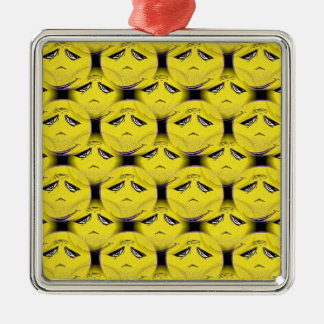 Smiley Face Guru Chorus Christmas Ornament