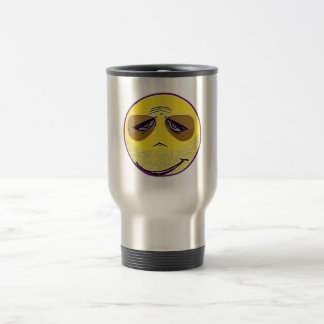 Smiley Face Guru Cool Travel Mug